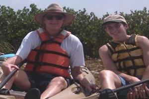 Coastal Bend Parent-Child Kayak Fishing